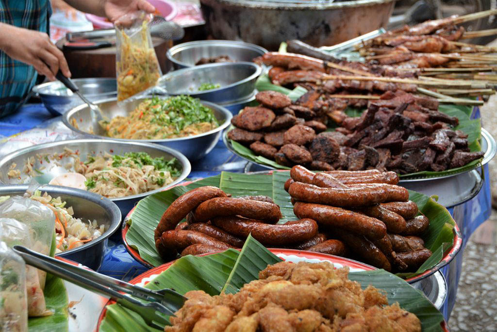 There is no shortage of street food to try in Luang Prabang