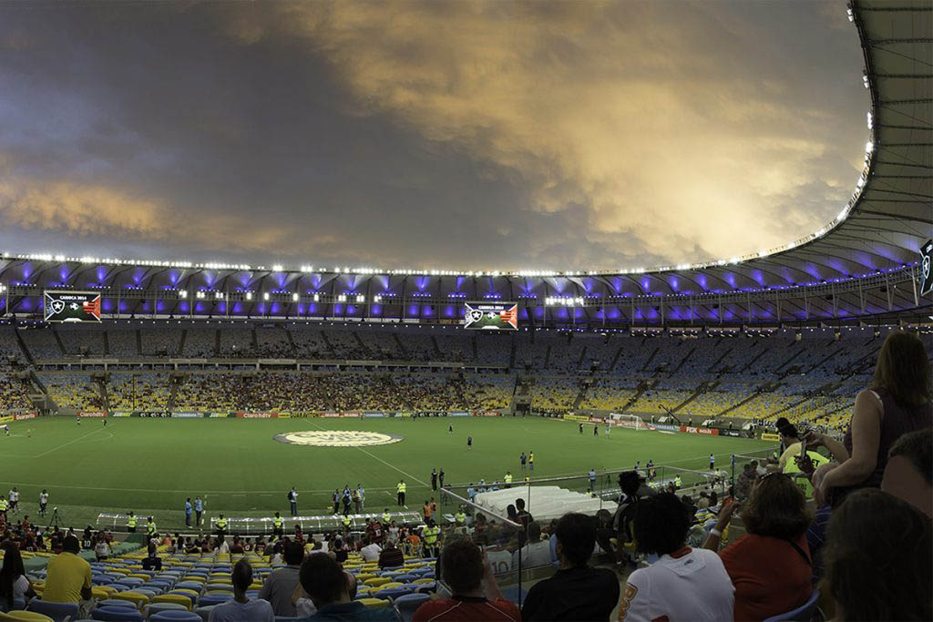 The Maracanã in Rio de Janeiro has hosted two football World Cup finals