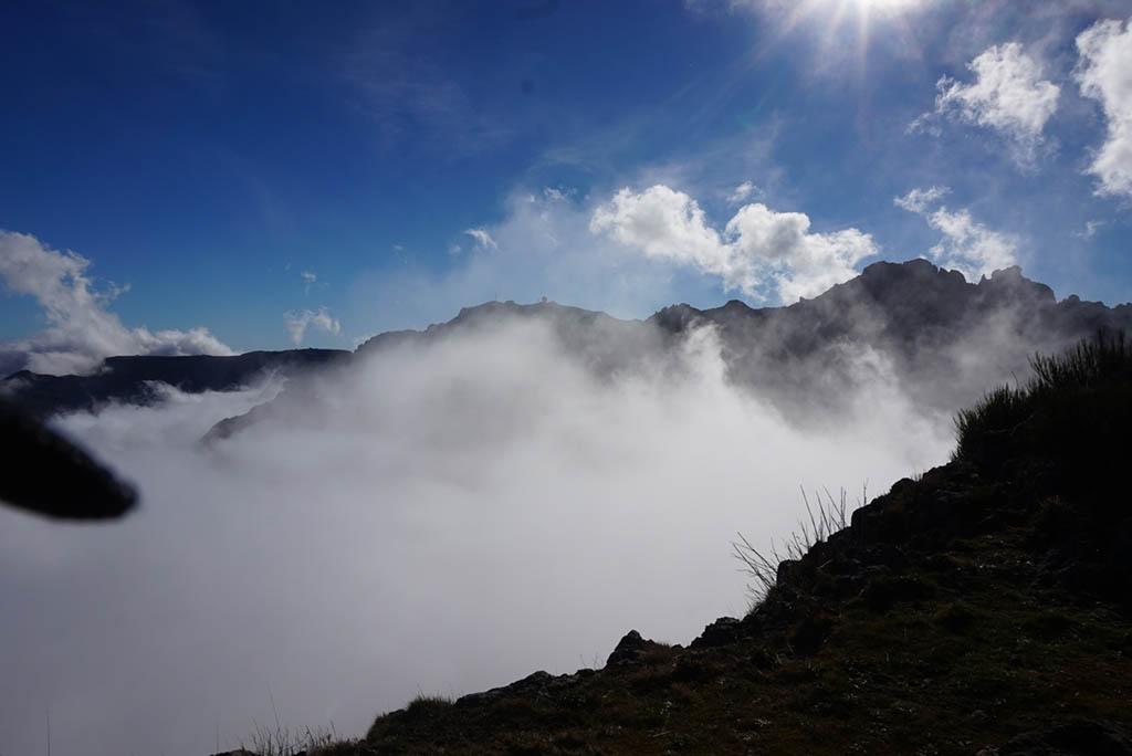 Pico do Arieiro to Pico Ruivo