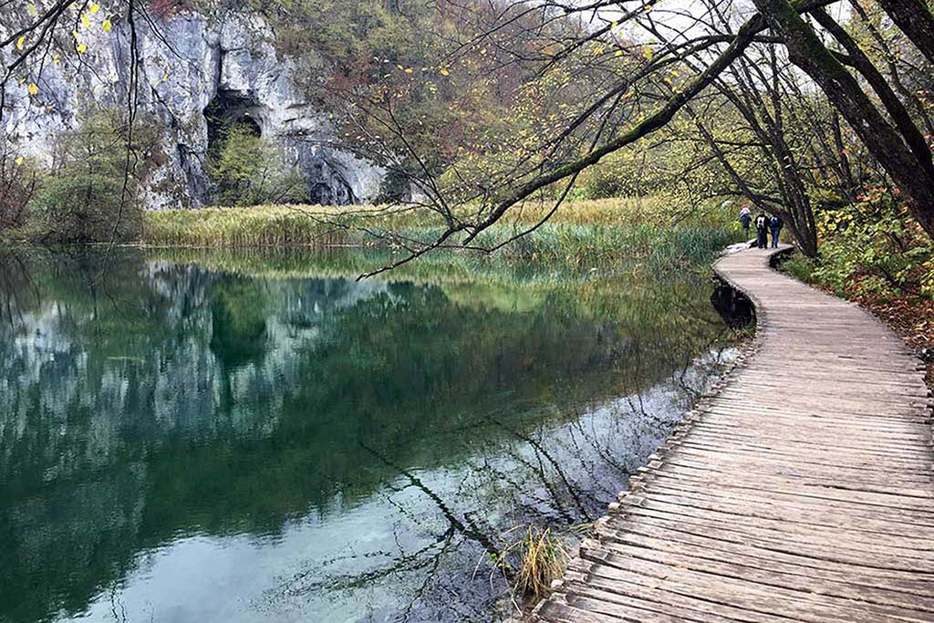 Plitvice Lakes Croatia is among the best hikes in Europe
