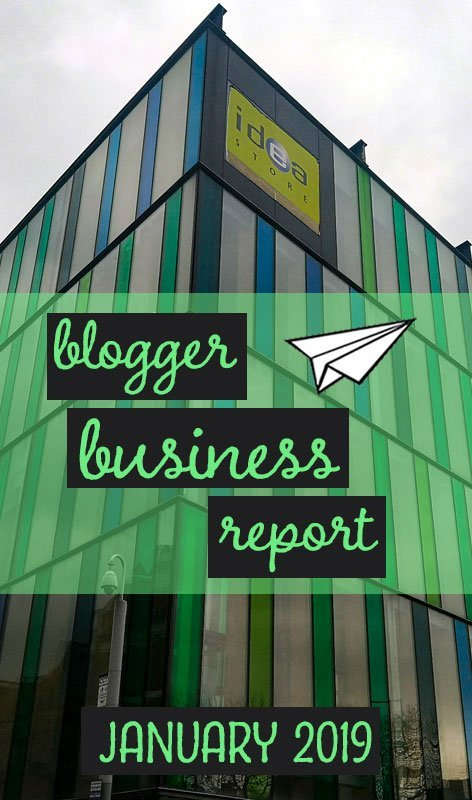 Each month we report on our progress and cashflow as we attempt to build a thriving travel blogging business. This is our business report for January 2019. #blogging #blog #businessreport #incomereport #bloggers