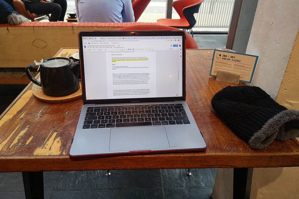 Husk Coffee & Creative Space is one of my offices away from home in London