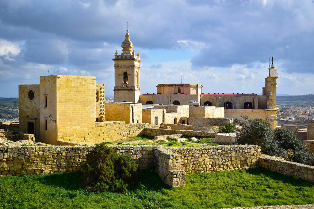 La Cittadella in Gozo is great to explore in the mild climate of Malta in winter