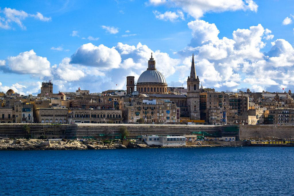 Valletta, Malta, is one of the world's smallest capital cities