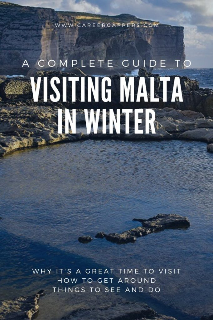 Visiting Malta in winter is great for exploring the island nation, with a mild climate and fewer tourists around. This guide explains all you need to know. #maltainwinter #malta #visitmalta #thingstodoinmalta #maltatravel