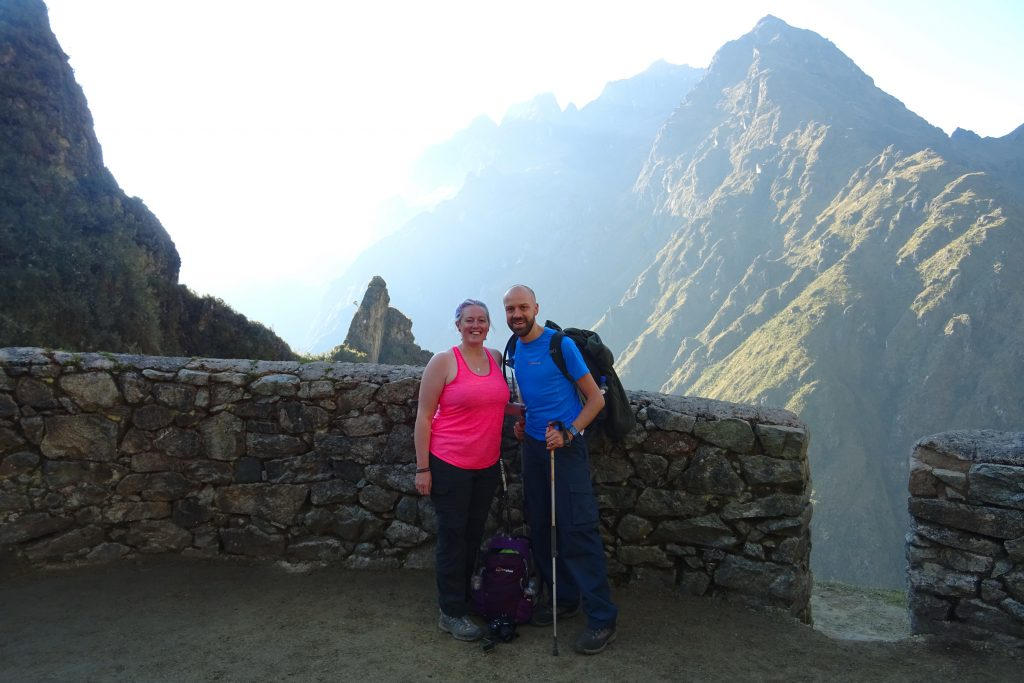 Alex and Lisa Inca Trail packing list