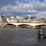 London Thames view from South Bank