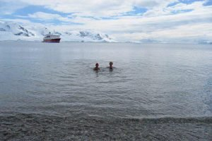 A ten-day cruise to Antarctica was the highlight of Hannah and Chris's travel career break