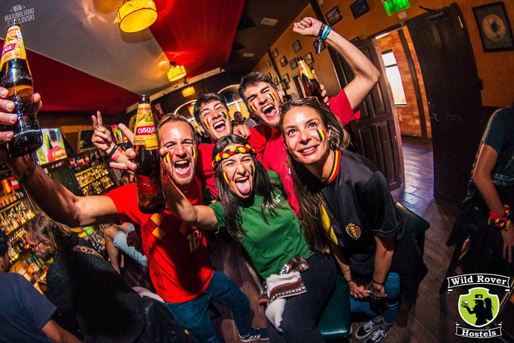 Wild Rover is the top-rated hostel in Cusco for meeting new people and having a party