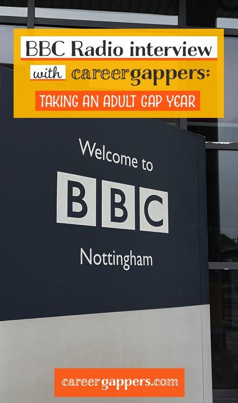Listen to Alex's interview on BBC Radio Nottingham, discussing the benefits of taking a career gap in later life on the Alan Clifford Show. #careerbreak #careergap #gapyear #adultgapyear #BBCradio