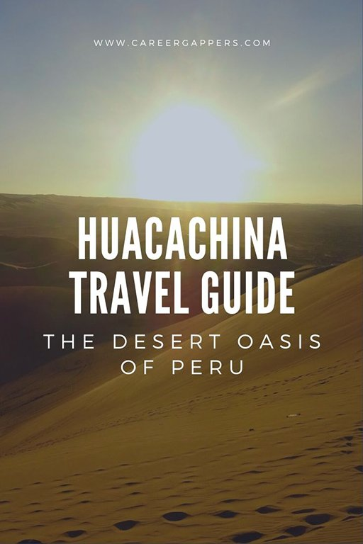Plan your trip to Huacachina, the Peru desert oasis. Essential information on things to do, places to stay and transport. #huacachina #peru #perutravel #huacachinatravel #thingstodoinperu