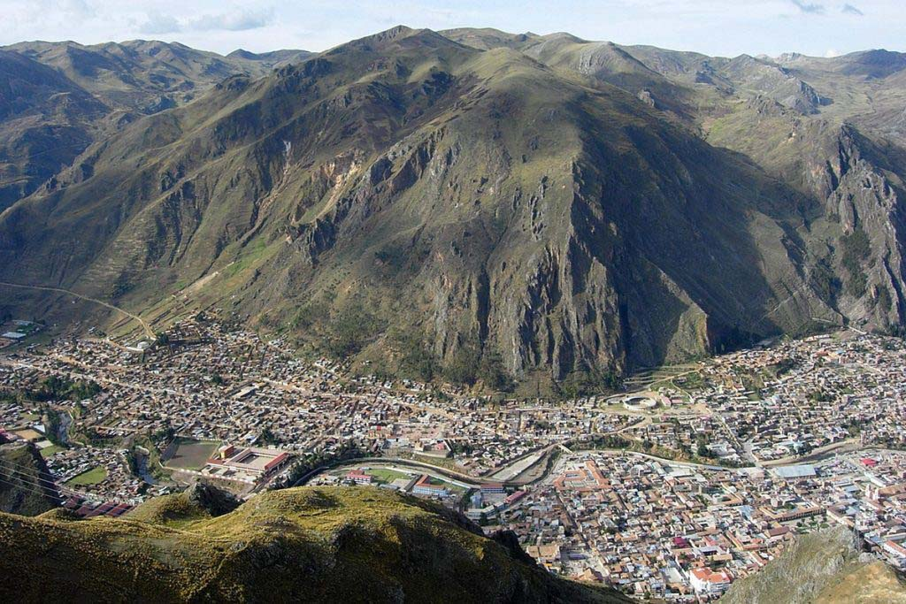 Huancavelica trail to Santa Barbara mines