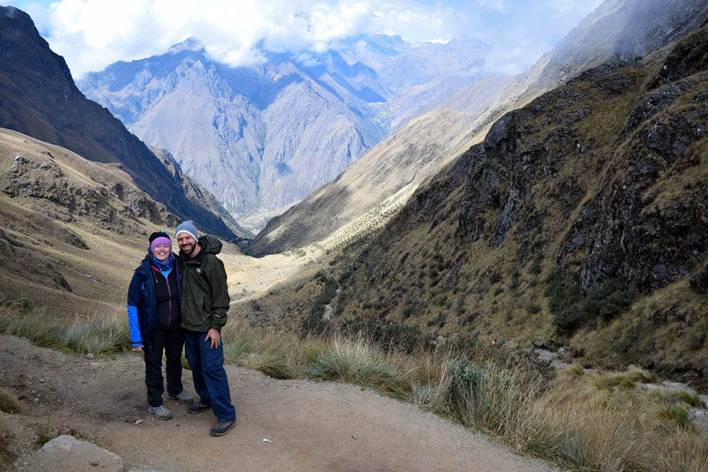 Inca Trail Alex and Lisa Dead Womans Pass