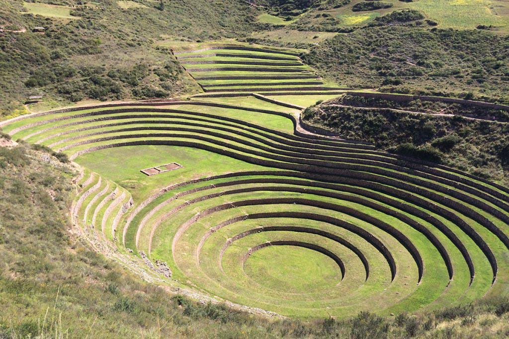 Moray ruins, Sacred Valley