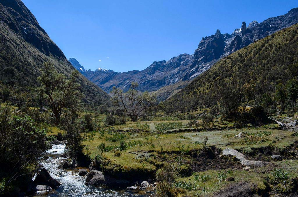 The Santa Cruz Trek is one of the most famous Peru trekking routes