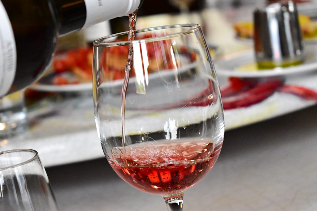 We particularly loved Tili Vini's rosé, produced with no sugar for a refreshing dry flavour