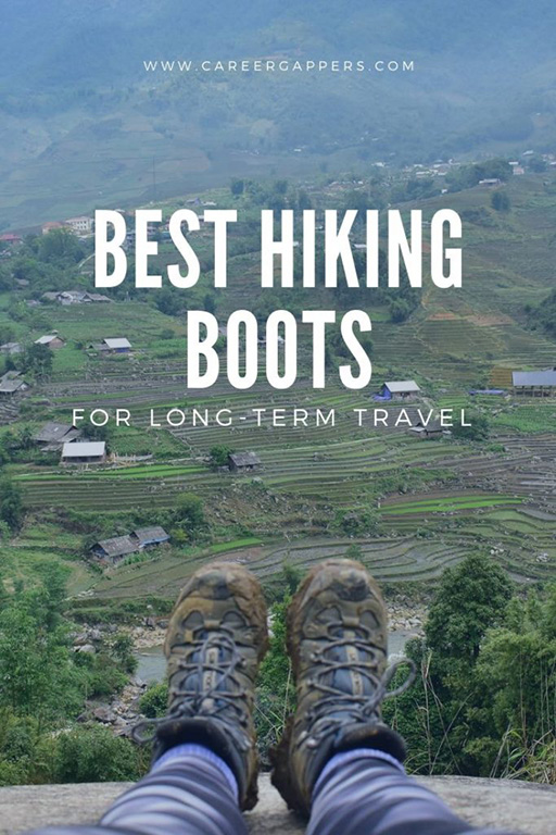 We review and compare the best hiking boots for travel in 2019. Including prices, features, and how to find the perfect pair for your needs. #hikingboots #hikingshoes #travelboots #travelshoes #travelgear