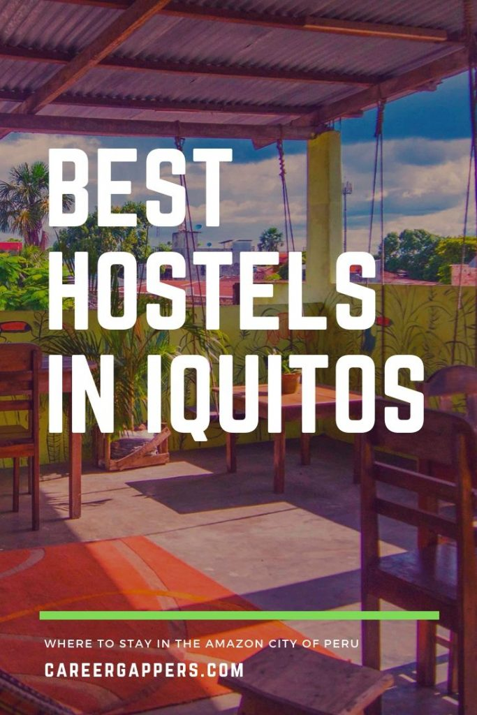 Looking for budget accommodation on a trip to the Amazon? These are the best hostels in Iquitos, Peru, with essential info about prices, facilites and more. #iquitos #iquitosperu #amazonperu #peruvianamazon #iquitostravel