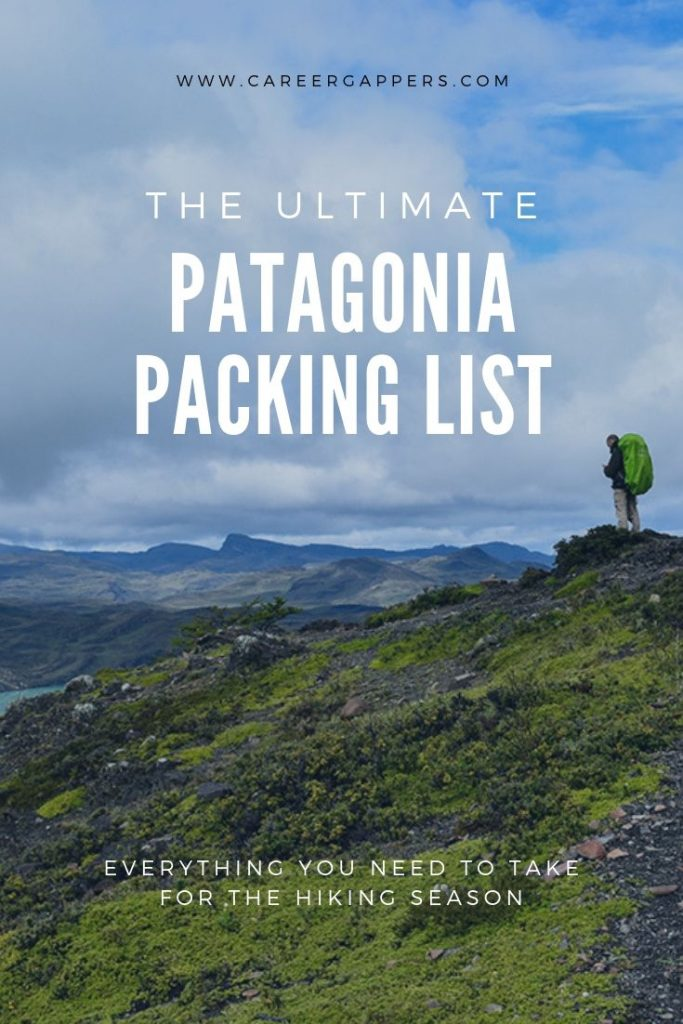 Our Patagonia packing list details everything you need to take for the trekking season, including clothes, gear, camping equipment, accessories and more. #patagonia #packinglist #packinglists #patagoniatravel #hiking