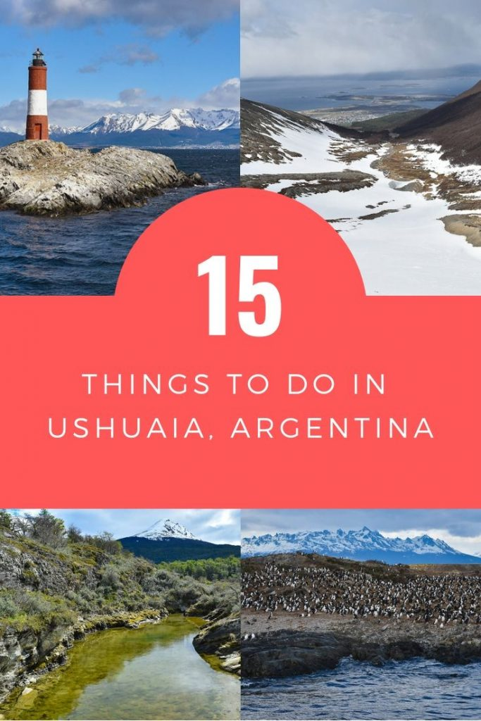 The very best things to do in Ushuaia, Argentina, the world's southernmost city. Including city sights, hiking, cruises, tours and practical travel info. #ushuaia #ushuaiaargentina #patagonia #patagoniaargentina #tierradelfuego