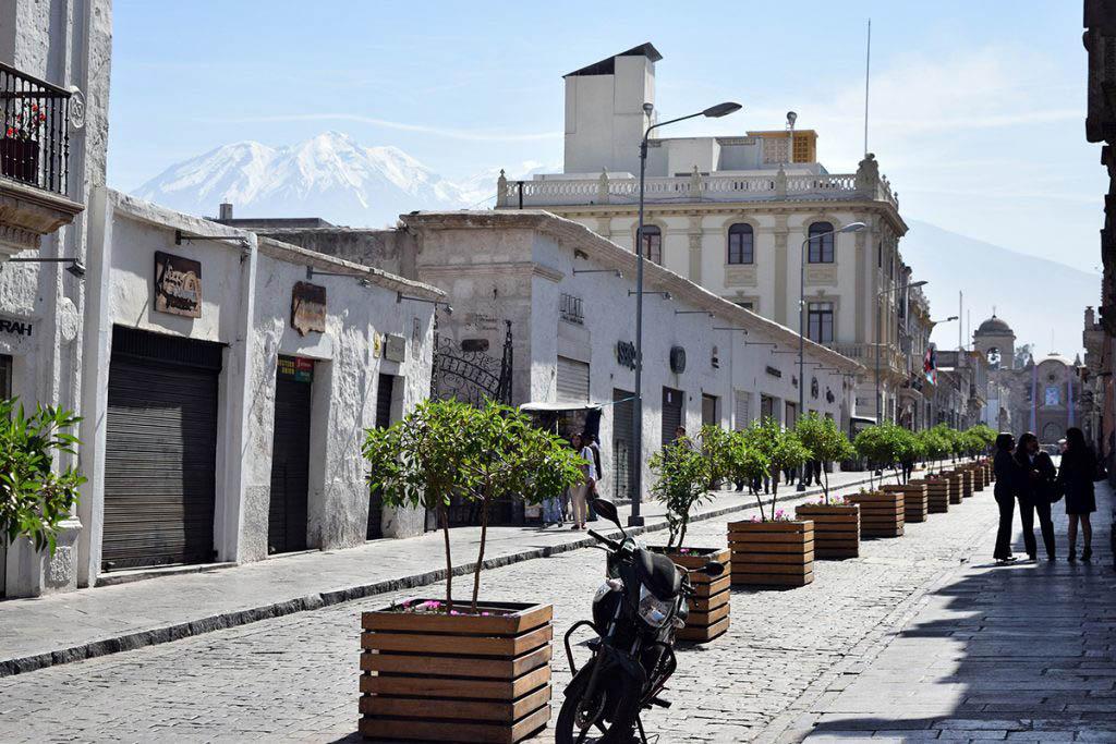 White sillar architecture Arequipa