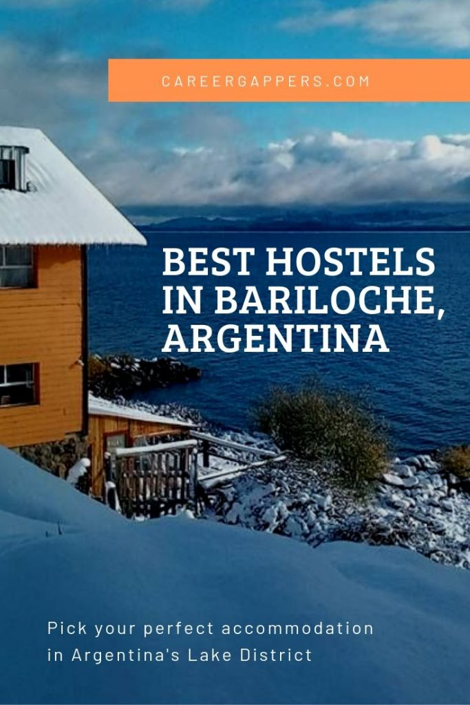 Where to stay on a budget Argentina's Lake District: our guide to the best hostels in Bariloche includes prices, facilities, locations and comparison. #bariloche #sancarlosdebariloche #besthostels #hostels #patagonia
