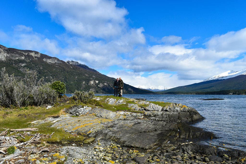 Alex and Lisa Tierra Del Fuego National Park