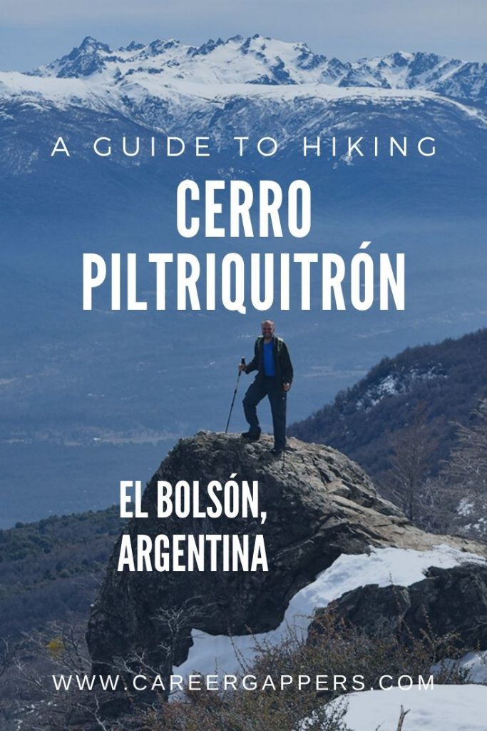 Cerro Piltriquitrón is a stunning day hike from El Bolsón, Argentina. This guide details how to hike the trail, plus more trekking routes in El Bolsón. #elbolson #bariloche #hikingpatagonia #elbolsonargentina #patagoniatreks