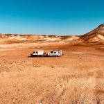 Career break family travel with a truck and caravan in Australia