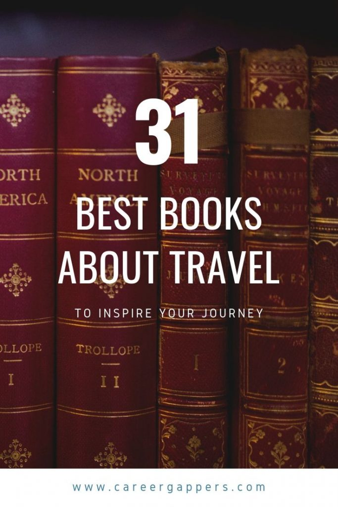 In this ultimate travel reading list, bloggers from around the world recommend the best books about travel to inspire your wanderlust. #travelbooks #readinglist #booksabouttravel #adventurebooks #books
