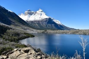 The unmistakeable horns of Los Cuernos in Torres Del Paine National Park