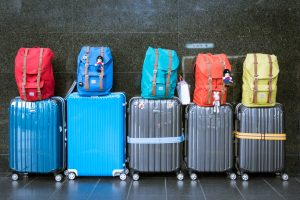 Suitcases luggage long-term storage