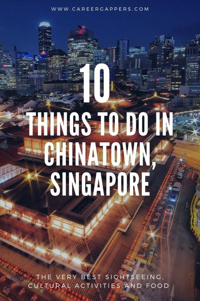 Whether you are a food lover, an explorer, a photographer, or just enjoy sightseeing, these are the very best things to do in Chinatown, Singapore. #singapore #chinatownsingapore #singaporechinatown #exploresingapore #singaporefood