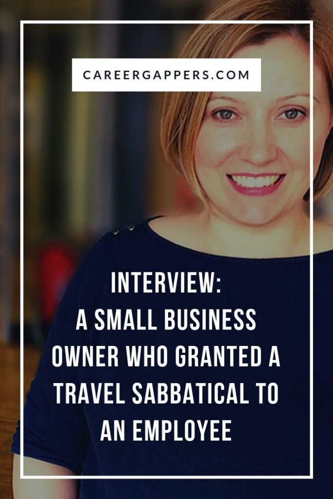 Nina Mack runs a digital agency in Manchester, UK. When a team member asked to take a three-month travel sabbatical, she found a way to make it work. #sabbatical #sabbaticals #smallbusiness #travelsabbatical #careerbreak