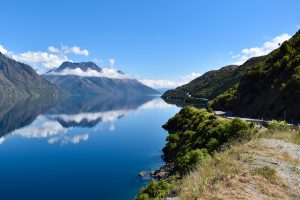 New Zealand scenic road trip Fjordlands