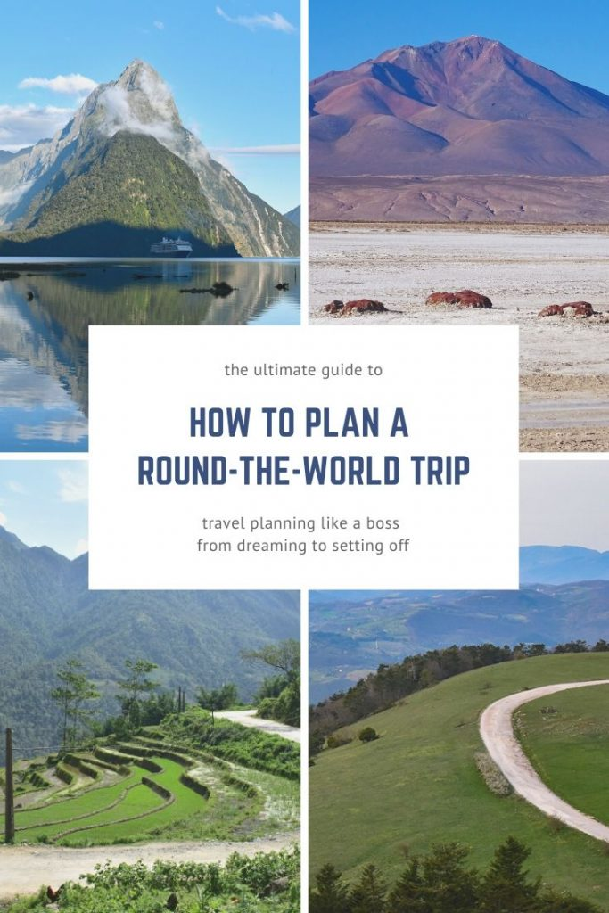 Travel planning doesn't have to be a nightmare. This guide explains how to plan a round-the-world trip in easy, manageable steps. #travelplanning #tripplanning #planyourtrip #roundtheworld #travelitinerary