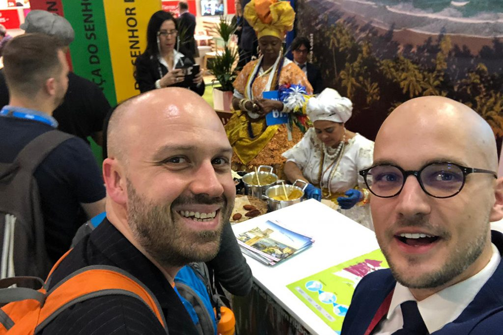 Alex and Greg at WTM