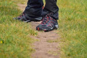 Alex wearing Merrell Yokota 2 hiking boots