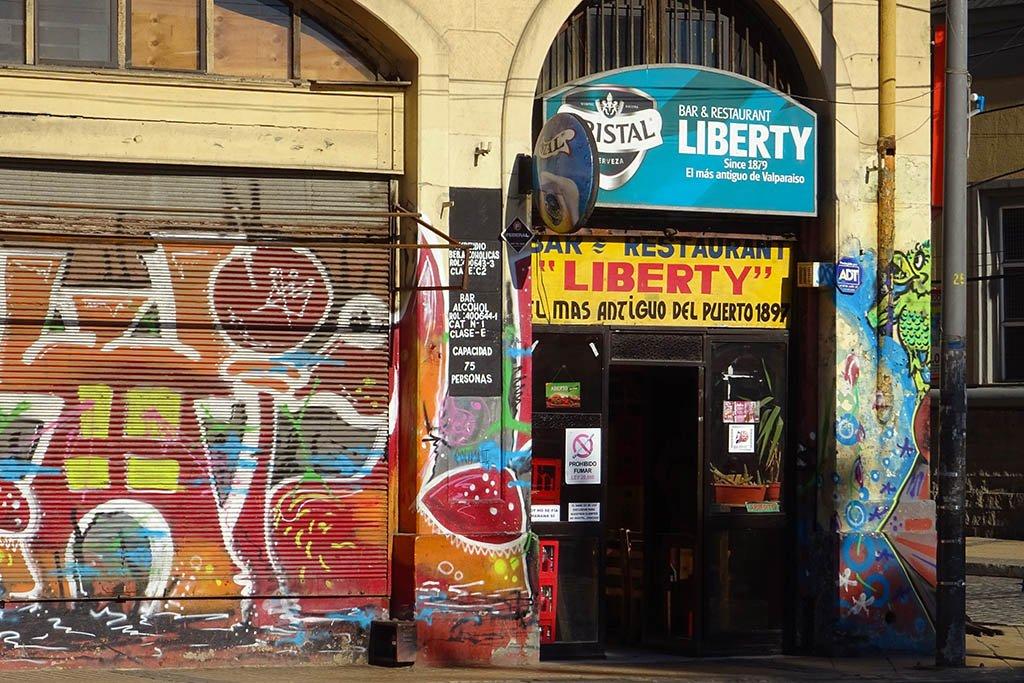 Bar Liberty Valparaíso