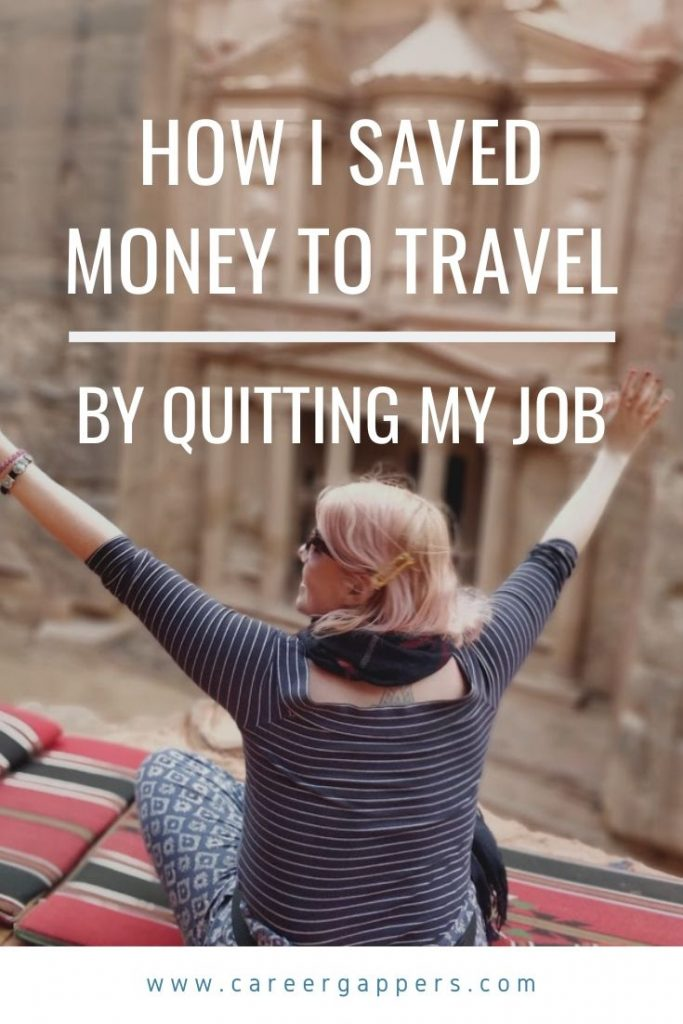 The story of a communications executive from London who saved more money to travel by quitting her permanent job and embracing temp work. #savingmoney #travelmoney #quityourjob #savingfortravel #travelsaving