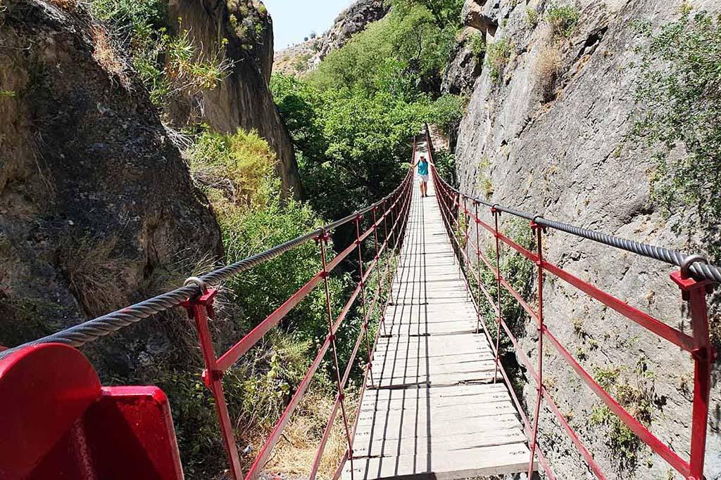 Monachil hanging bridge