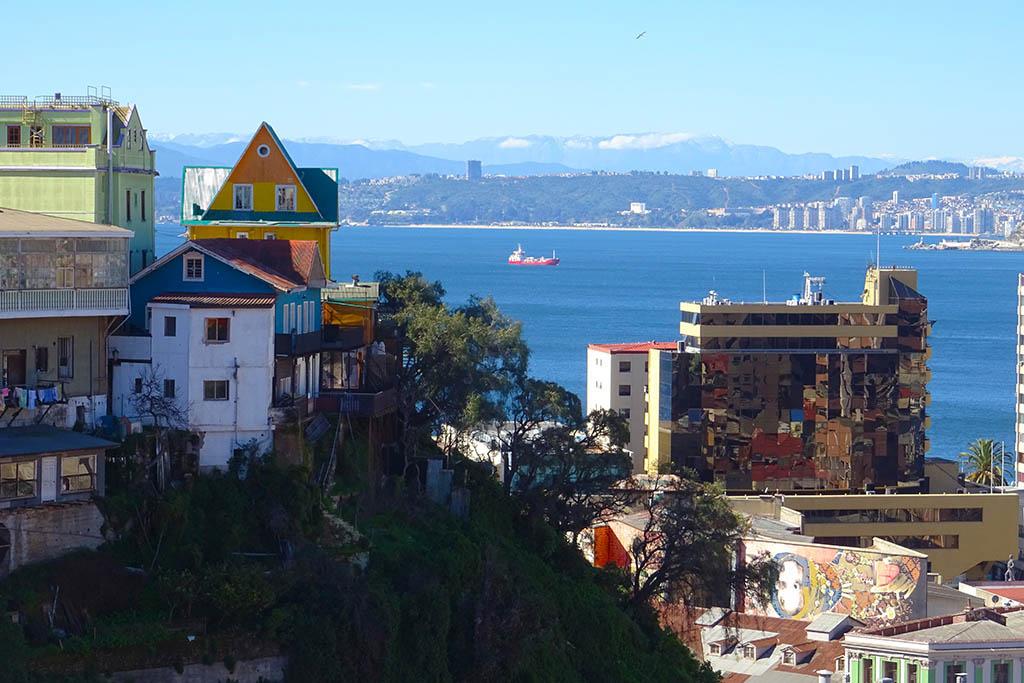 Viña del Mar view from Valparaíso
