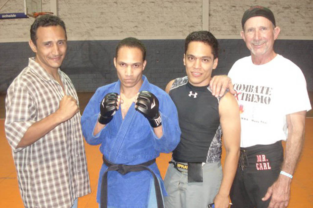 Eddie made a name for himself in the martial arts community in Honduras