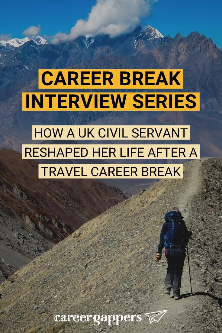 Lara Hayes took a 14-month break from her career in the UK Civil Service to travel. After returning home, she left London and has embraced a rural life. #careerbreak #travelcareerbreak #travelbreak #sabbatical #travelsabbatical