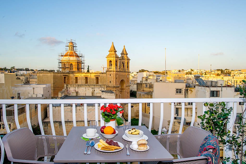 Where to stay in Malta: South Wind Guesthouse
