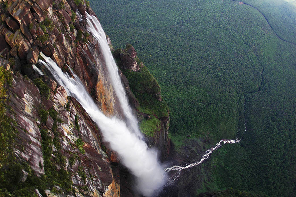 South America bucket list: Angel Falls Venezuela