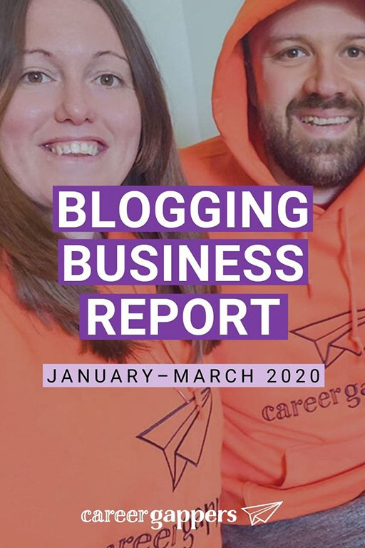 In our latest blogging business report, we explain how we are adapting and planning for the future in the wake of worldwide travel restrictions. #incomereport #blogging #bloggingbusiness #travelblog #travelbloggers