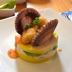 Causa Peruvian food