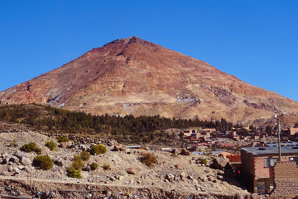 Cerro Rico mines of Potosi Bolivia