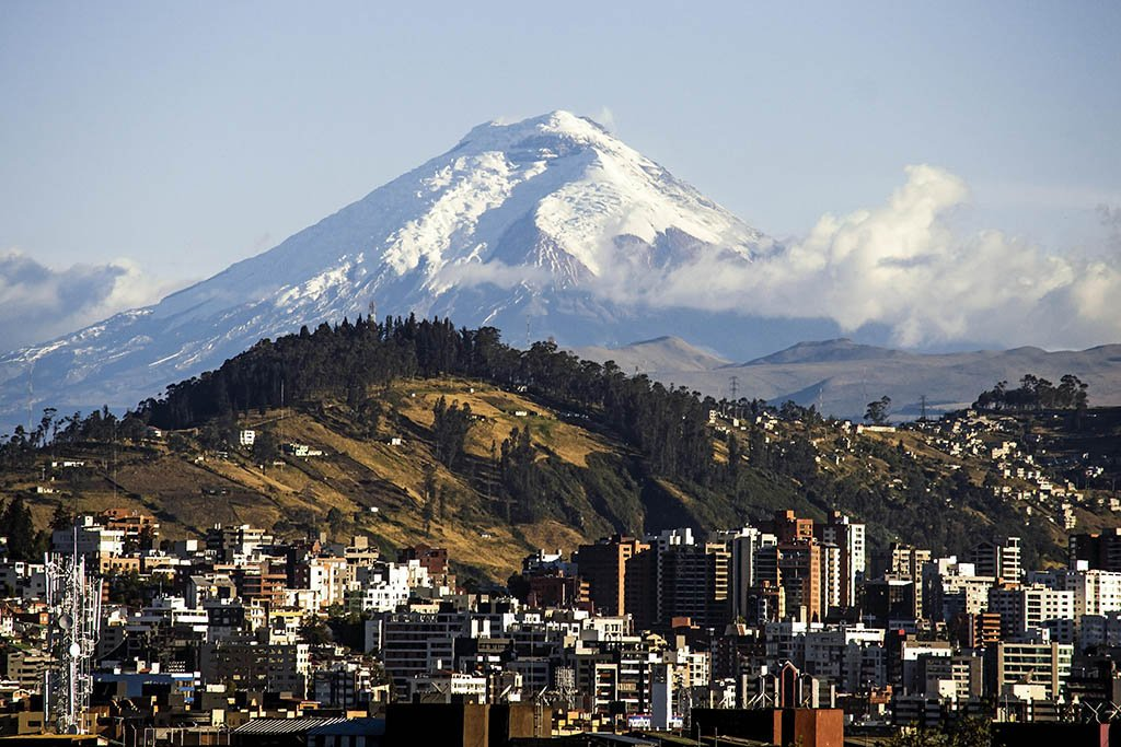 South America bucket list: Cotopaxi stratovolcano Ecuador